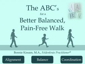 ABCs for Walking eBook by Bonnie Kissam Feldenkrais in Sarasota
